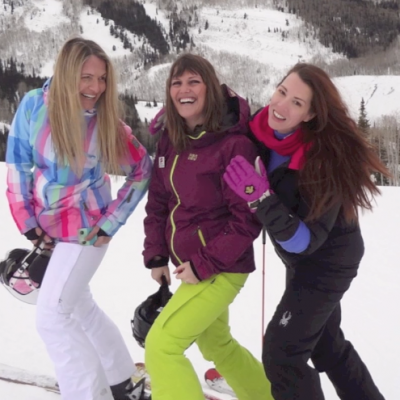 Snowmamas Hit Park City!