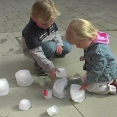 Create Fun Ice Play Activity for the Kids!