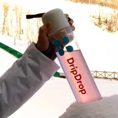 Happy Hydration For The Entire Year With @DripDrop #electrolyte #power